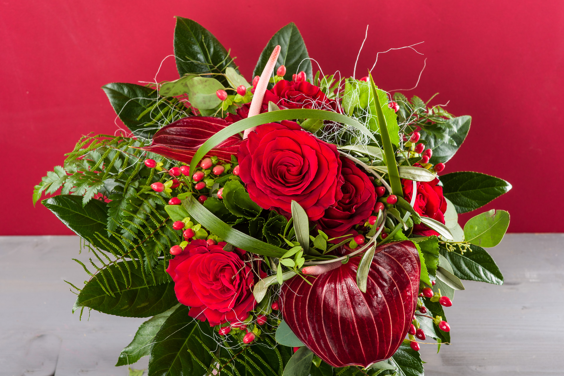 Valentin, Edel in Rot